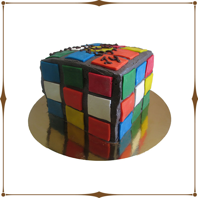 chani s delectables rubik s cube cake