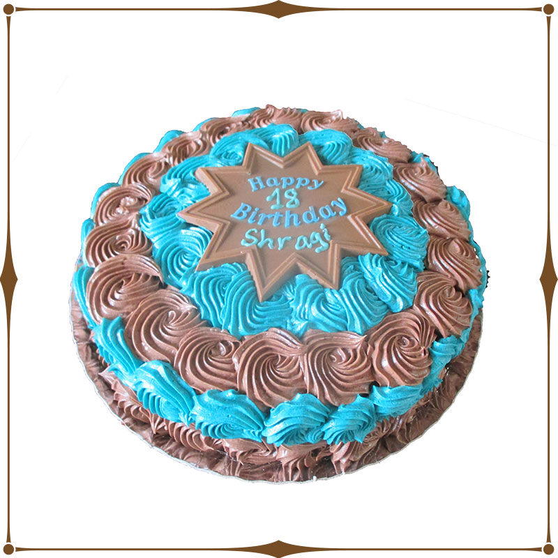 Decorated Swirl Cake Chani S Delectables